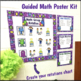 Math Groups Poster Kit  Monster Theme