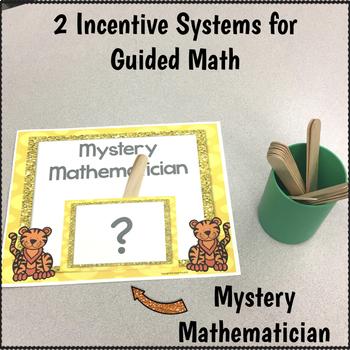 Math Groups Poster Kit  Tiger Theme