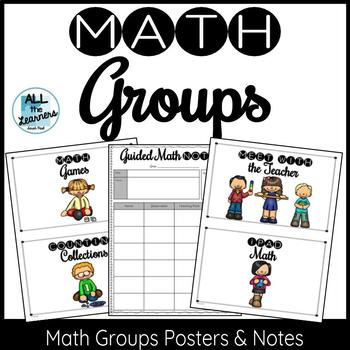 Math Groups Posters & Notes
