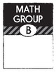Math Groups and Stations / Centers