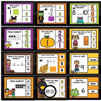 Math Growing Bundle Boom Cards