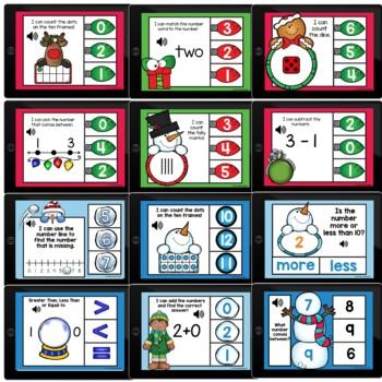 Kindergarten Math Bundle Boom Cards