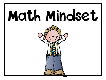 Math Growth Mindset Classroom Posters