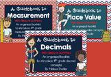 Math Guidebooks Bundle- Decimals, Measurement, and Place Value