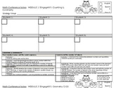 Math Guided Group Conference Templates