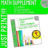 First Grade Math : Homework UNIT 4