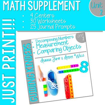 Kindergarten Math Supplement UNIT 2