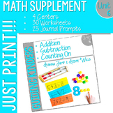 Kindergarten Math Printables UNIT 6