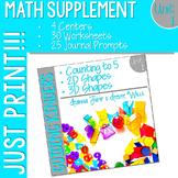 Kindergarten Math Printables Unit 1