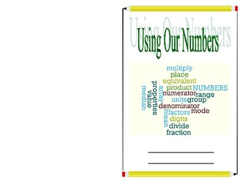 Using Our Numbers Journal