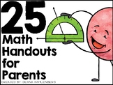 Math Handouts for Parents