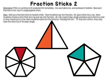 Math Hands-On Learning Sticks