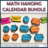 Math Hanging Calendars for Middle School