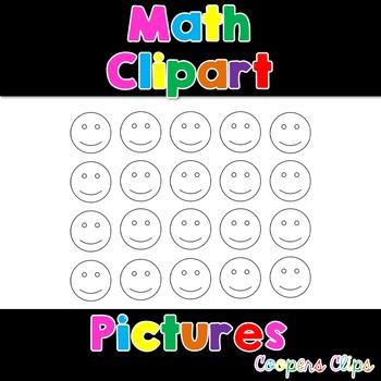 Math: Happy Face Clipart