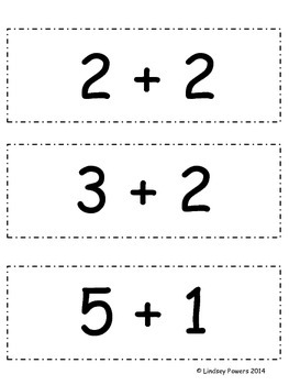 Math Headbands - Addition and Subtraction Game