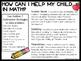 Math Helper Handouts for Parents