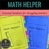 Math Helper for Grades 2-8
