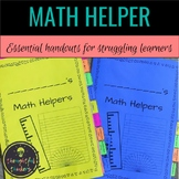 Math Helper for Grades 2-8