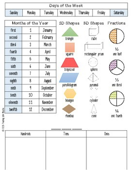 Math Helper (with workmats)