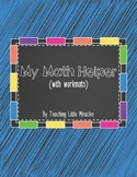 Math Helper (with workmats)