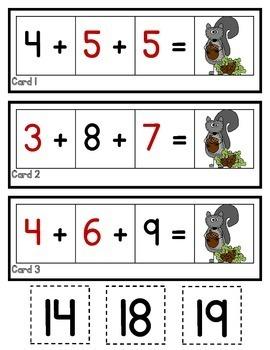 3 Addends  2.OA.A.1  2nd Grade Math Helps