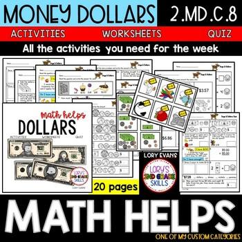 Money 2.MD.C.8  2nd Grade Math Helps