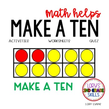 Make A Ten  2.OA.A.1  2nd Grade Math Helps