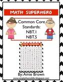 Math Superhero Chevron 120 Chart Game