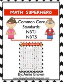 Math Superhero Chevron 120 Chart Game