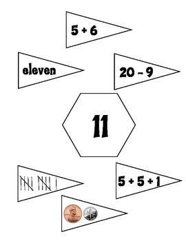 Math Hexagons