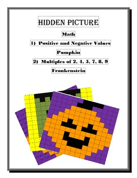 Math Hidden Picture (Halloween Bundle)