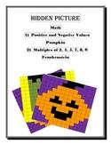 Math Hidden Picture (Halloween Bundle)