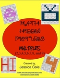 Math Hidden Pictures - Multiples