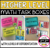 Math Higher Level Task Boxes