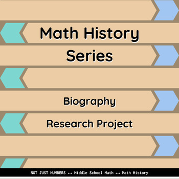 Math History - Biography Research Project (Slideshow)