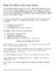 Math History Narrative Writing Prompt