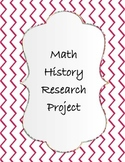 Math History Research Project