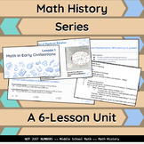 Math History Series: Unit with Teacher Notes