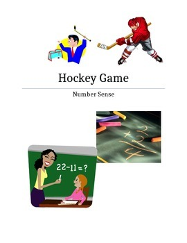 Addition/Subtraction/Multiplication Hockey Game