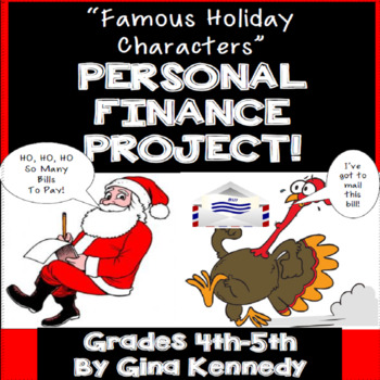 Christmas Math, Personal Finance Holiday Project