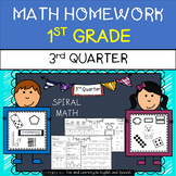 Math Homework for 1st Grade - 3rd Quarter