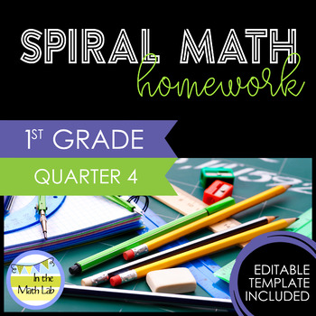 Math Homework 1st Grade - Quarter 4