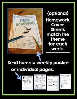 Math Homework 2nd Grade - Quarter 4