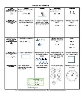 Math Homework 3