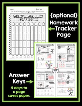 Math Homework 3rd Grade - Quarter 3