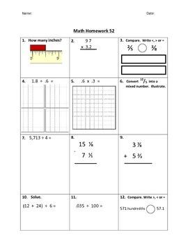 Math Homework #4