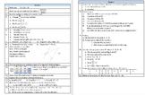 Math Homework Booklet