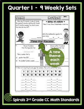 3rd Grade Math Homework - Quarter 1
