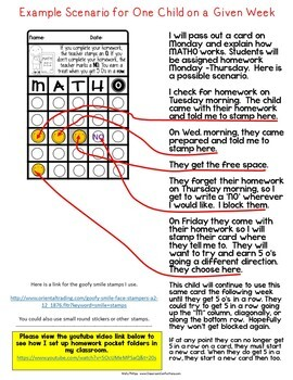 "Math Homework Incentive: ""MATHO"": For Third, Fourth, Fifth Grade Math Homework"