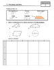 Math Homework Practice MFM1P1 - Measurement
